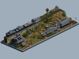 German WW2 Railway Diorama 2 Minecraft Project