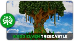 Wood Elven Treecastle Tutorial Minecraft Project