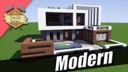 Modern house #1 Minecraft Map & Project