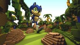 Line Dash: Sonic - Cubecraft Map Minecraft Project