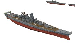 IJN BBA Owari .1944 (Download) Minecraft Project