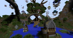 Giant RPG world Minecraft Project