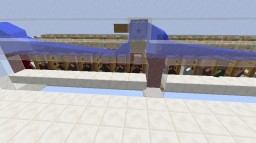 Compact and tiny villager trading hall