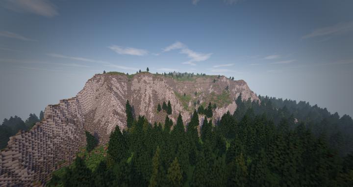 A Yosemite inspired mountain