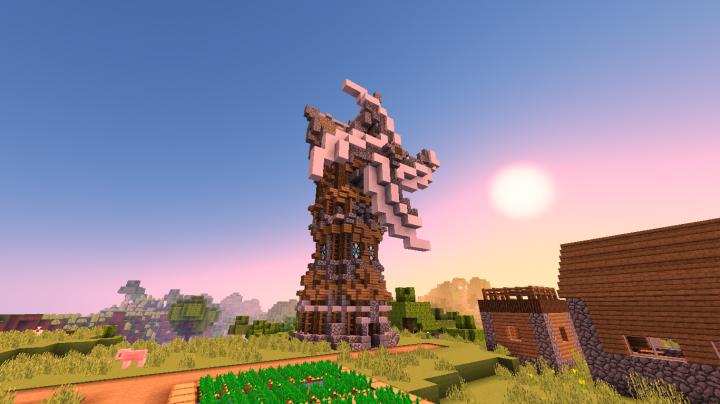 A raidable windmill!