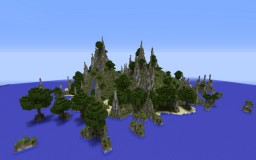 The island Minecraft Map & Project