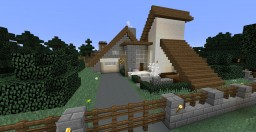 Simple Forest House Minecraft Project