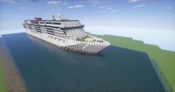 Modern Cruise Ship Minecraft Project