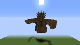 Hashirama Wood Golem (1:1 scale) Minecraft Project