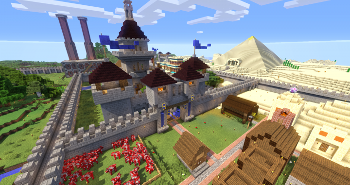 My Survival Realm Minecraft Project