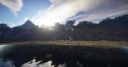 Tropical Dragon-Shaped Island