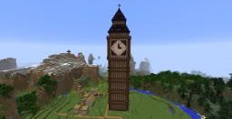 Big Ben(Clock Tower) Minecraft Map & Project