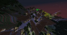 Sliverwinde City - Completely Built in Survival MP. Minecraft Project