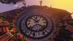 Novaria: Hub Minecraft Map & Project