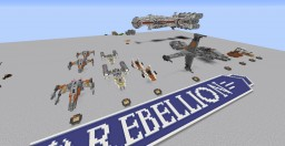 Star Wars Vehicle Collection Minecraft Map & Project