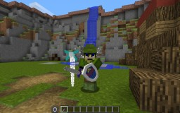 The Legend Of Zelda: Sword And Shield Models Minecraft Project