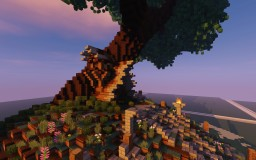 Treehouse//Elven House Minecraft Map & Project