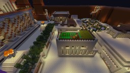 Egyptian House and Barn Minecraft Project
