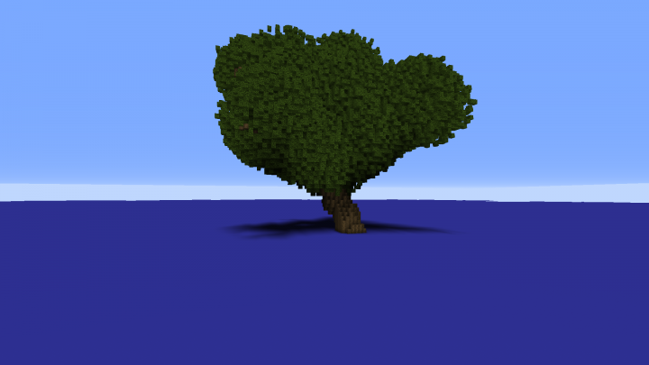 Command: Giant Tree Generator Minecraft Project