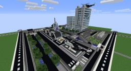 SCP Upper Area Facility [Airport & Office Complex] UPDATE IN THE FUTURE! Minecraft Project