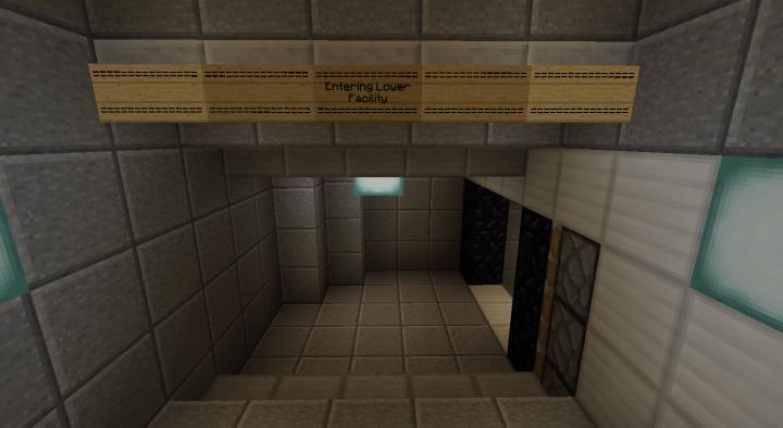 Lower Facility Entrance  Blast Doors