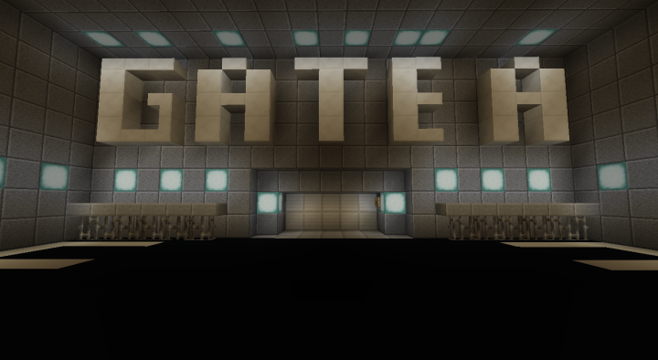 New  Improved Gate A Entrance