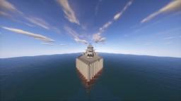 Atlanta class light AA Cruiser Minecraft Project