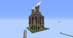 Steampunk Factory Spawn Minecraft Project