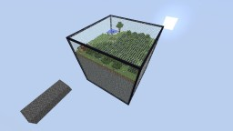 50x50x50 Cube Survival Minecraft Project
