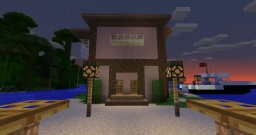 Modern Seaside House Minecraft Project