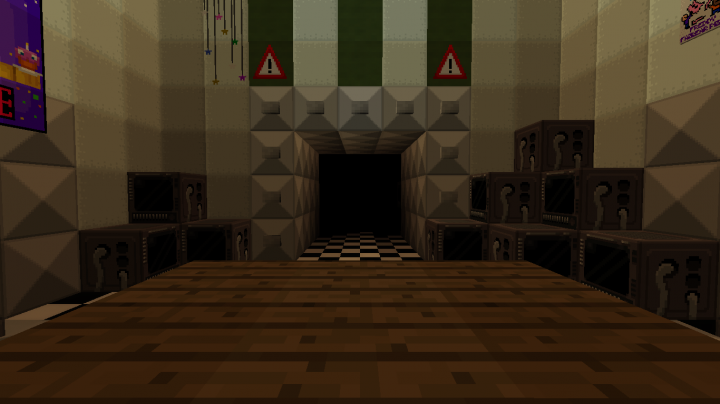 FNaF 2 Modded Map Minecraft Project