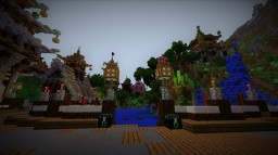 Oriental Fantasy Valley Minecraft Map & Project