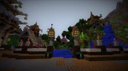 Oriental Fantasy Valley Minecraft Map & Project