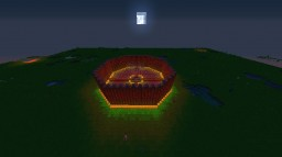 Bright Wooden PvP Arena Minecraft Map & Project