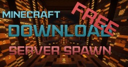| Minecraft Spawn |  Underground Theme | Map Download | Cinematic | 1080p | #6 | Great Tree Minecraft Project