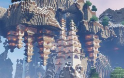 Air Temple Minecraft Project