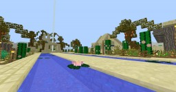 Egyptian/Desert style city: Oasis! (The Royal Gardens Update, Updated Modpack!) Minecraft