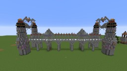 Fantasy Fire Bridge Expanded Minecraft Project