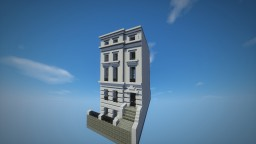 16 Cottesmore Gardens-a London townhouse Minecraft Project