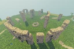 Stonehenge, United Kingdom Minecraft Project