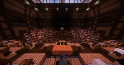 Reichstag building pre 1933 German Parliament (with INTERIOR) Minecraft Map & Project