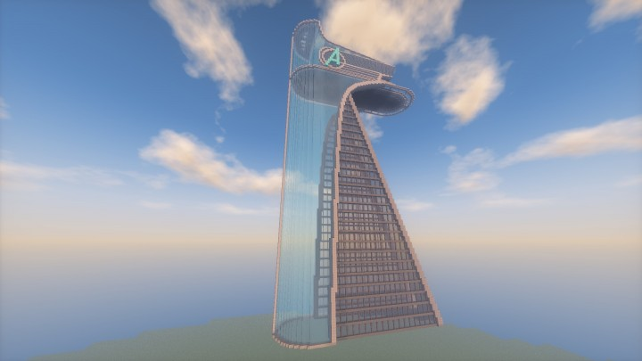avengers tower grand central station minecraft project