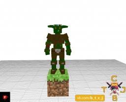 Goblin Model Minecraft Texture Pack