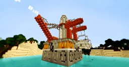 Oil Platform Minecraft Map & Project
