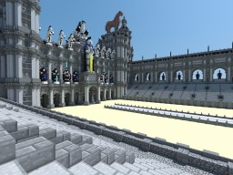 Roman Circus Maximus Minecraft Project