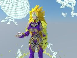 Ivy Valentine SSJ3 Minecraft Project