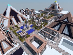 Akhetaten - Ancient Egyptian City Minecraft