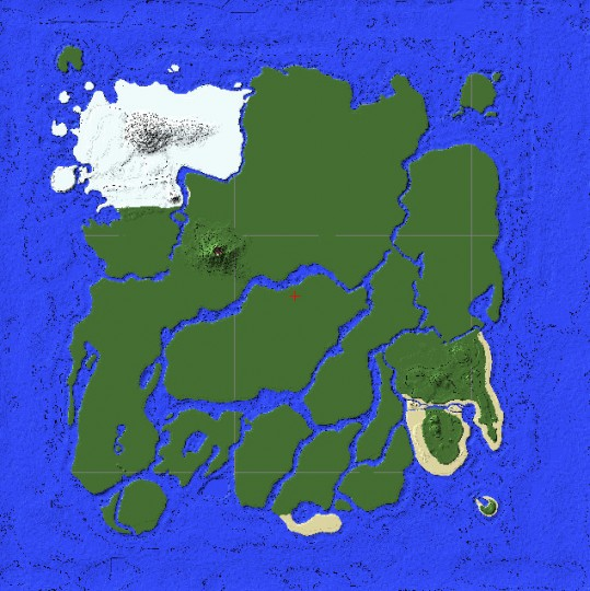 Ark The Island Map Minecraft Map