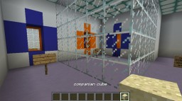 Portal Cube and Stanley Parable Minecraft Project