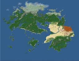 MASSIVE 20K x 17K Realistic Worldpainter Map - Theia - [DOWNLOAD]